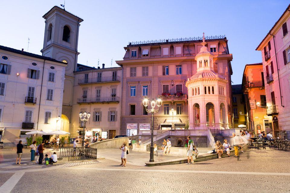 Acqui Terme, Piemont, Italien