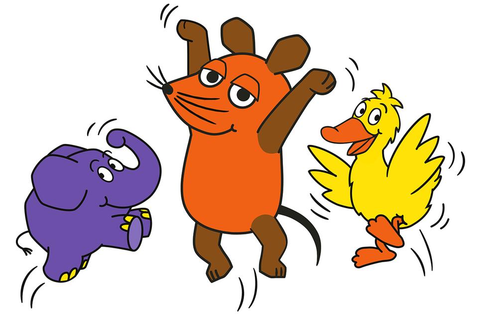 Elefant, Maus und Ente