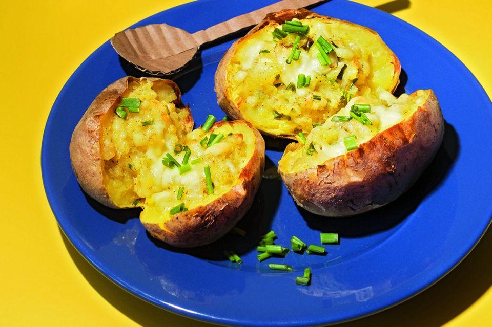 Backkartoffeln mit Käse