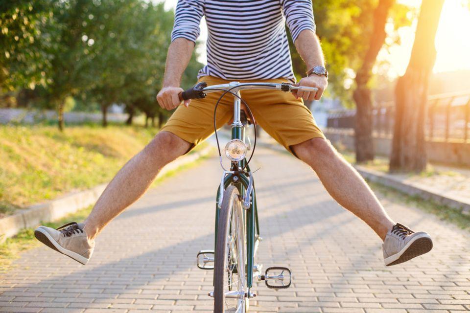 Rad fahren macht Spaß
