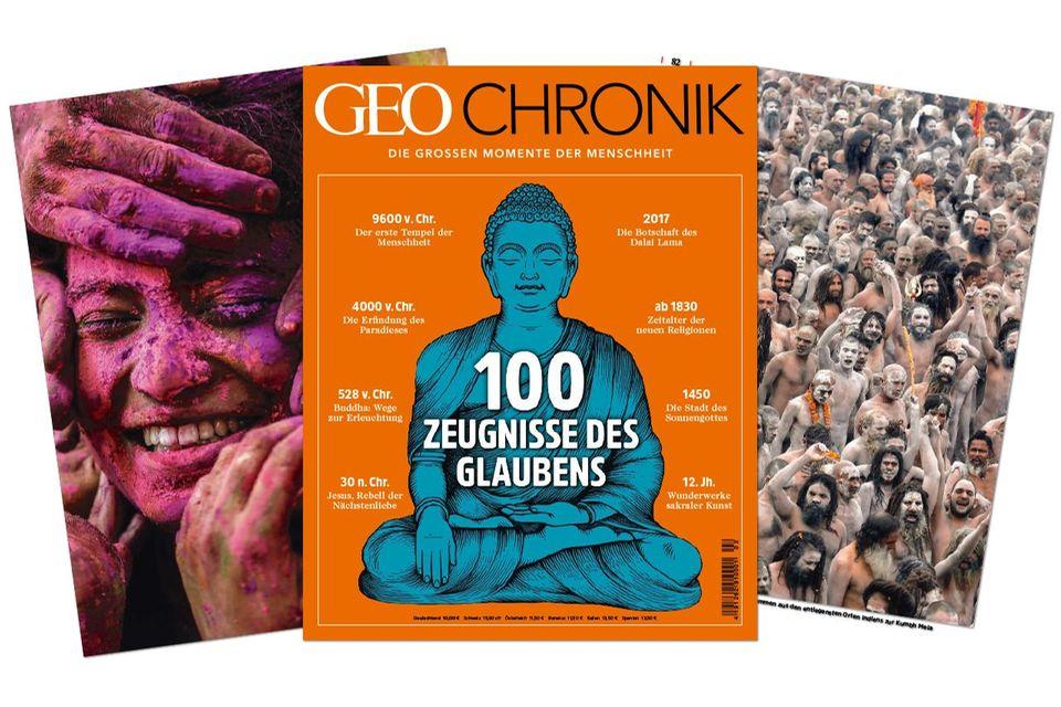 GEO Chronik - 100 Zeugnisse des Glaubens