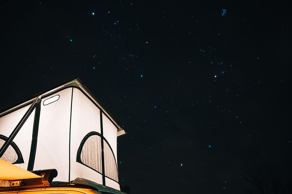 Bulli-Tour unter den Sternen