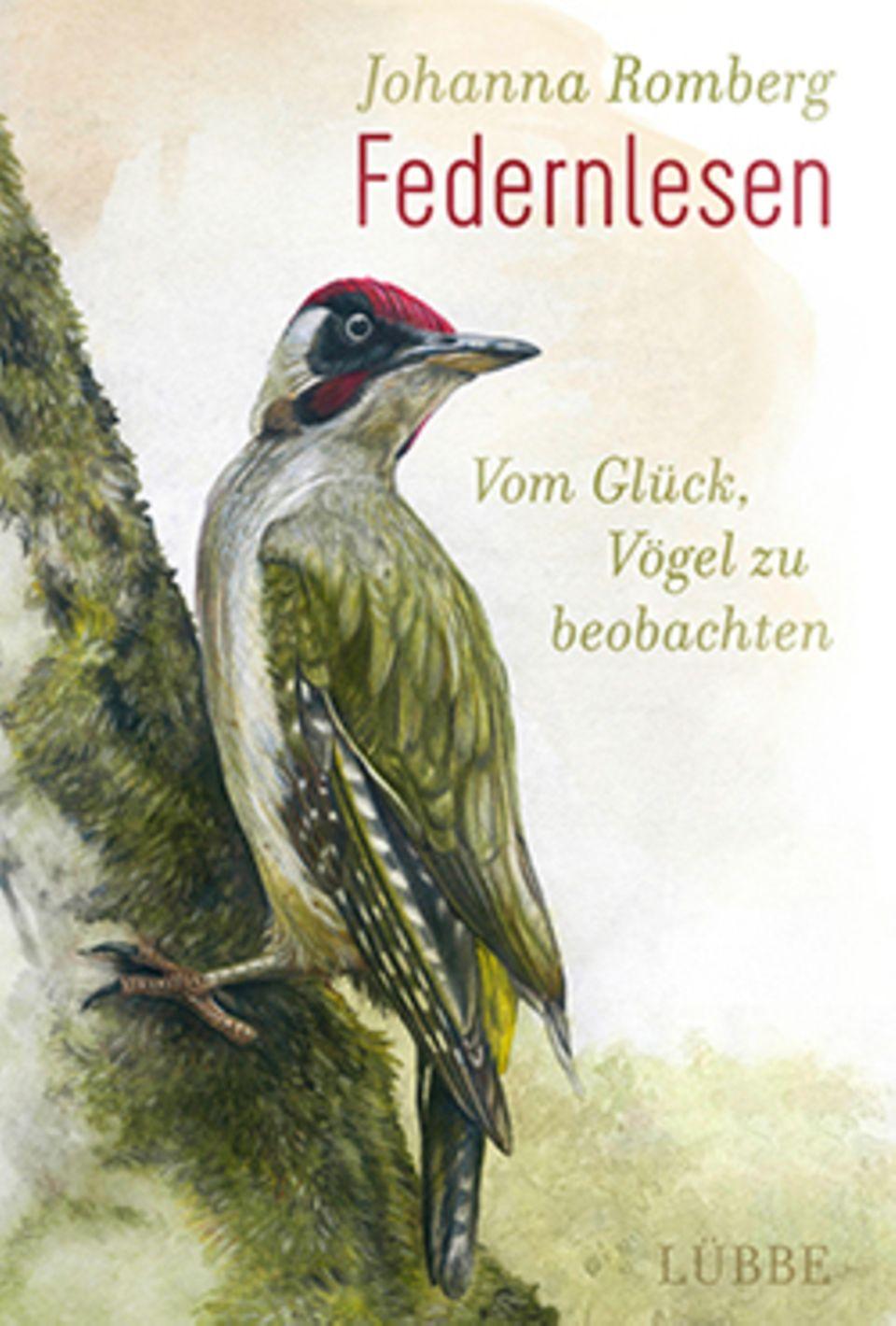 """Buchcover """"Federnlesen"""" von Johanna Romberg"""