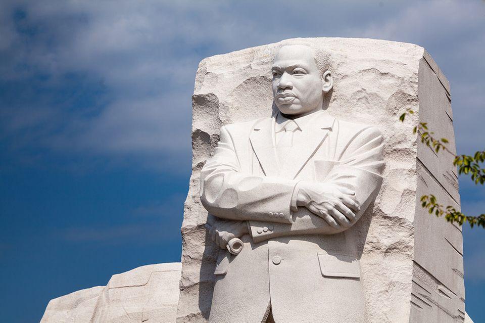 Denkmal von Martin Luther King