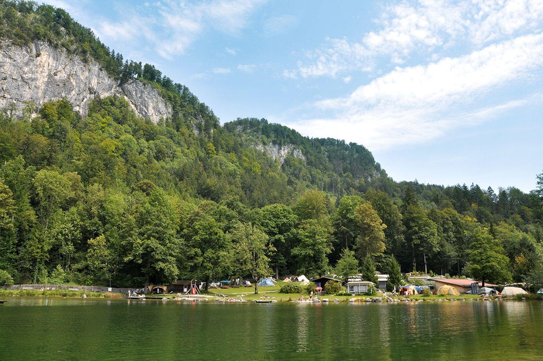 Campingplatz Zellersee; Bayern