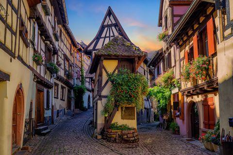 Eguisheim, Frankreich