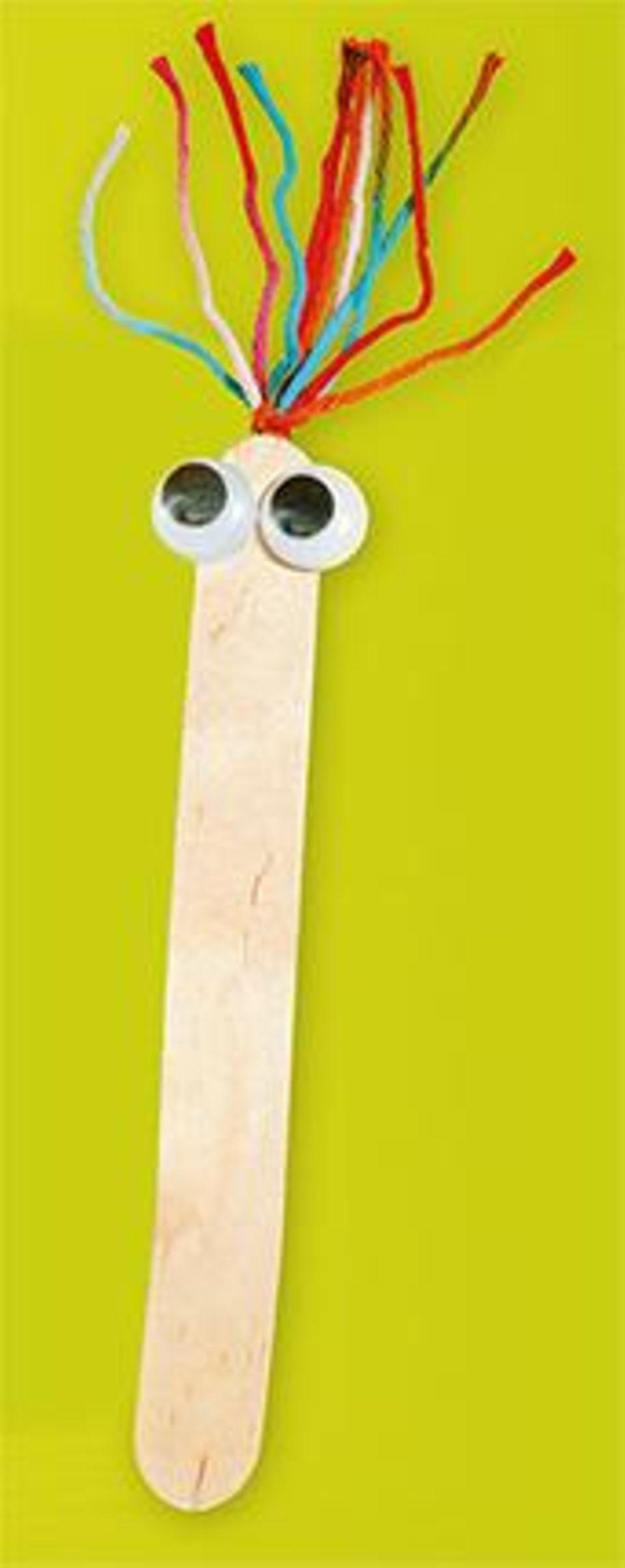 Holzspatel Lesezeichen