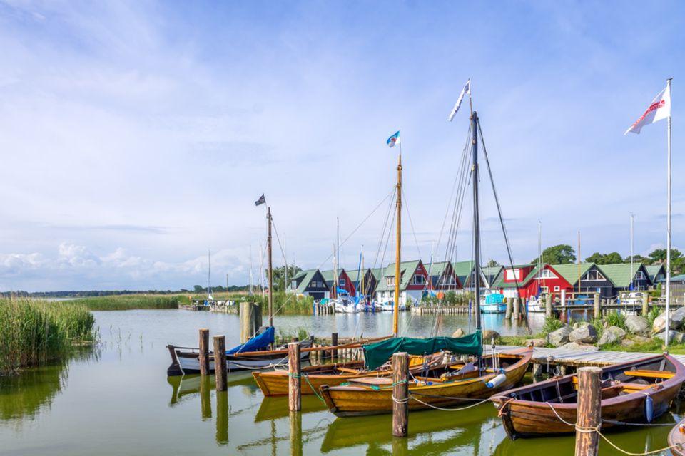 Yachthafen Ahrenshoop