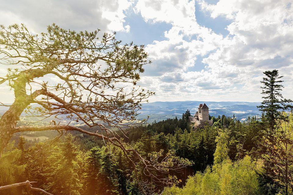 Burg Kašperk, Südböhmen, Tschechien
