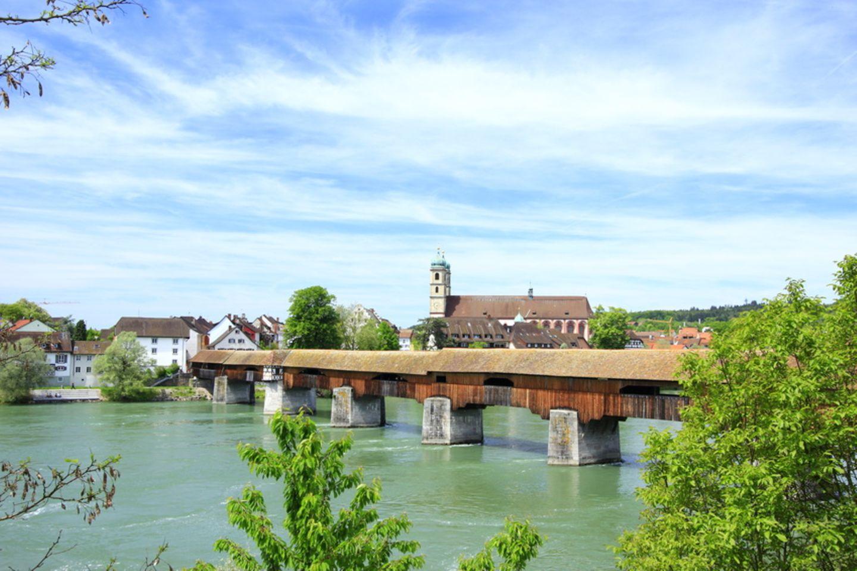 Holzbrücke, Bad Säckingen