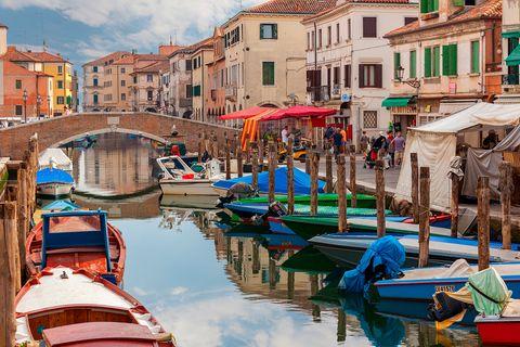 Chioggia, Italien: Sieht aus wie Venedig und liegt in derselben Lagune: Das Fischerstädtchen Chioggia.