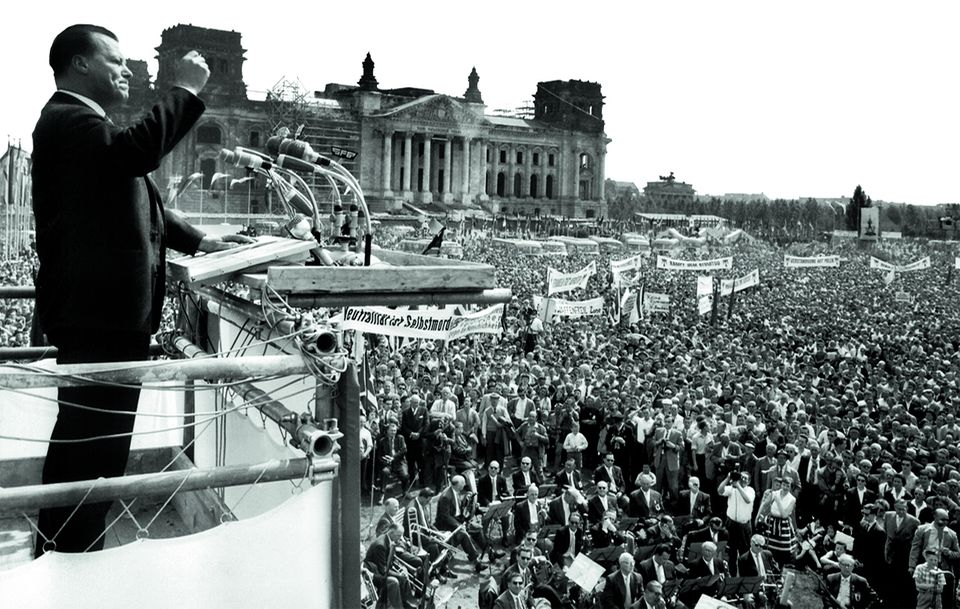 Willy Brandt in Berlin