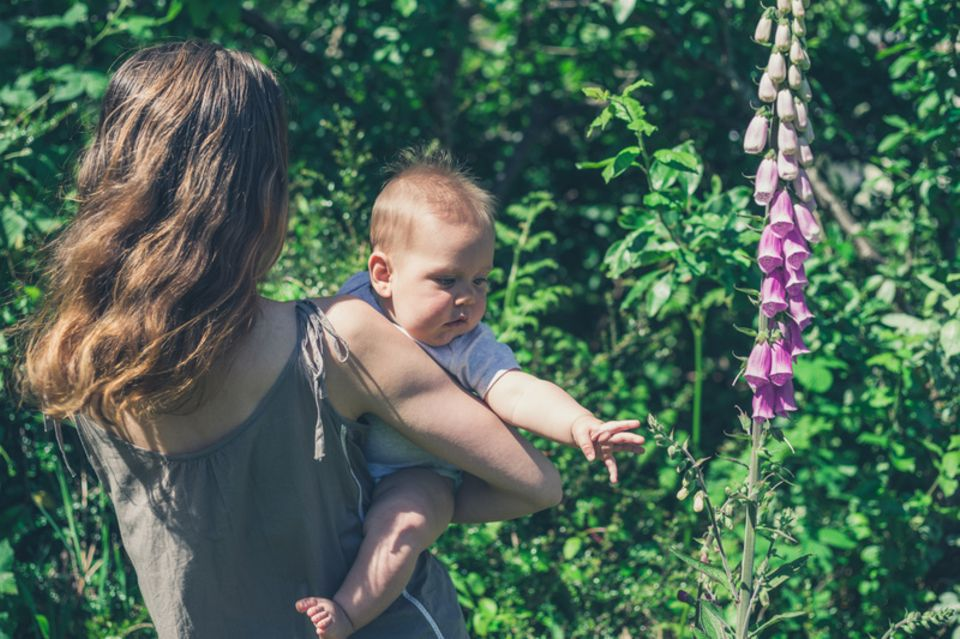 Fingerhut und Kind