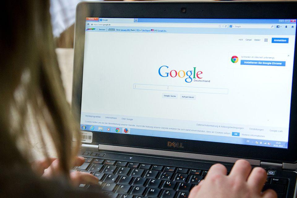 Mit Google suchen