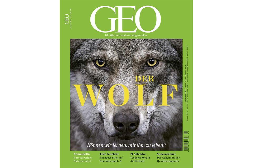 GEO Nr. 5/2018 - Der Wolf