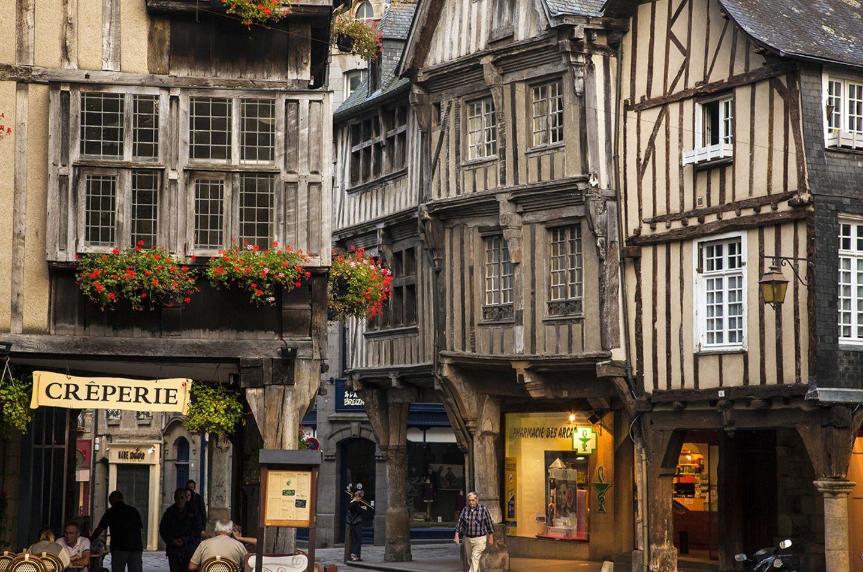Dinan, Frankreich