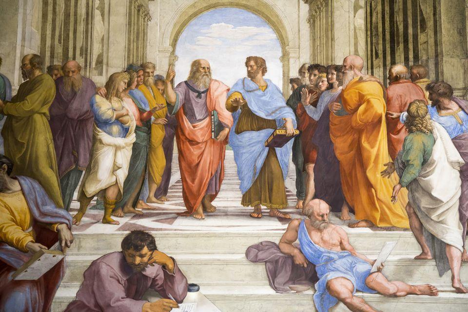 Aristoteles und Platon