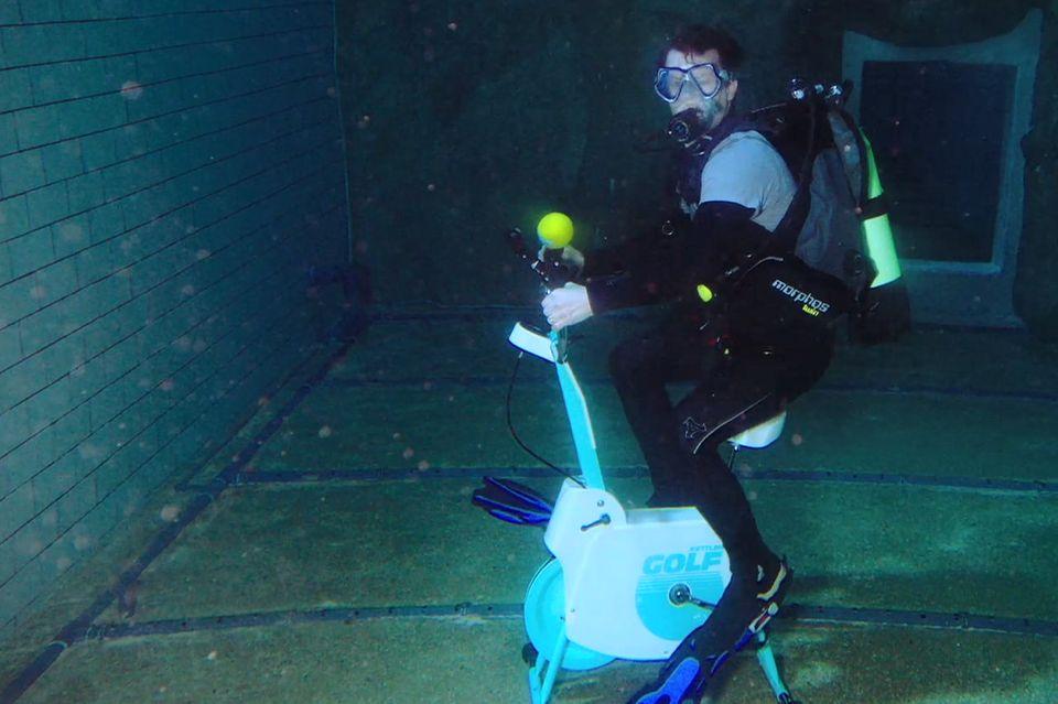 Die Beni Challenge unter Wasser