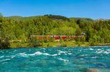 Bergen-Bahn von Bergen bis Oslo