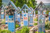 Merry Cemetery of Sapanta, Spanien