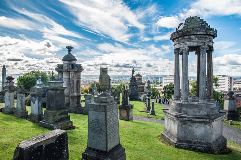 Necropolis, Glasgow, Schottland