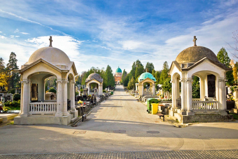 Mirogoj-Friedhof, Zagreb, Kroatien