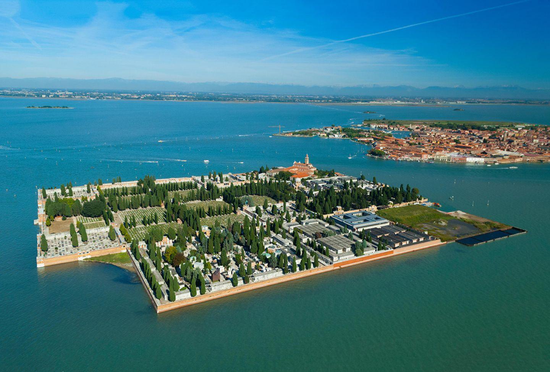 San Michele Island, Venedig, Italien (Insel San Cristoforodella Pace)