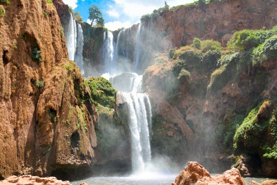 Ouzoud-Wasserfälle, Marokko