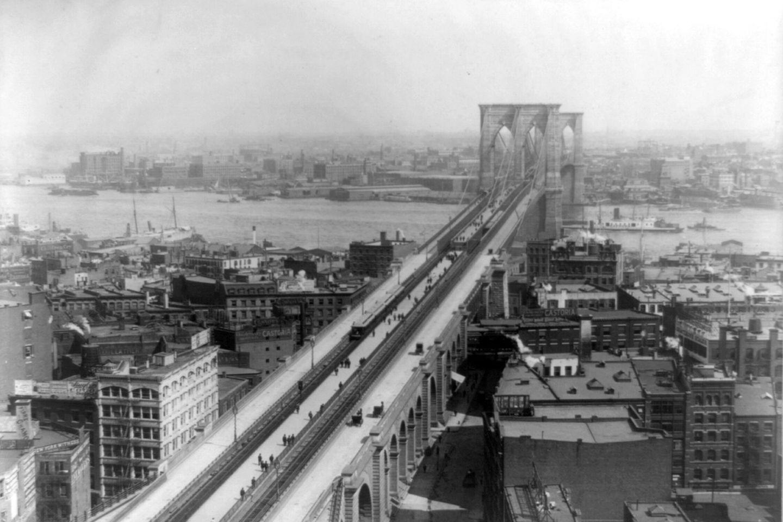 Brooklyn Bridge, 1897