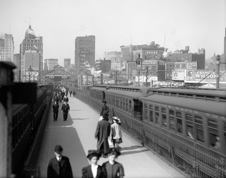 Brooklyn Bridge, 1900