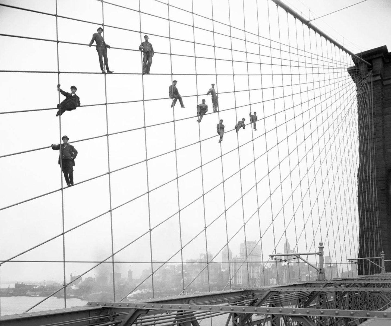 Brooklyn Bridge, 1914