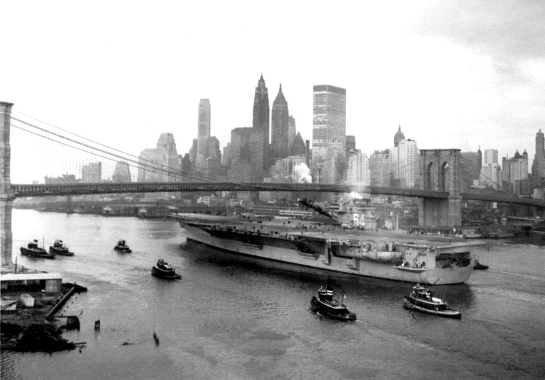 Brooklyn Bridge, 1960
