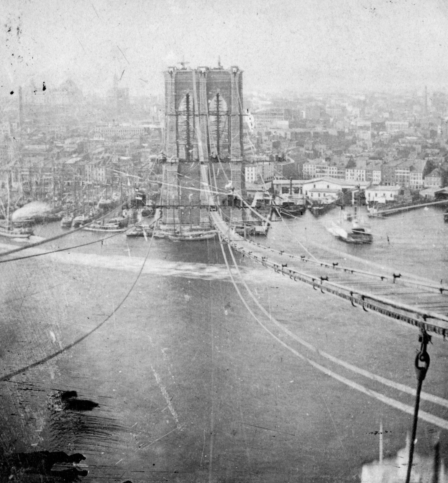 Brooklyn Bridge, 1873