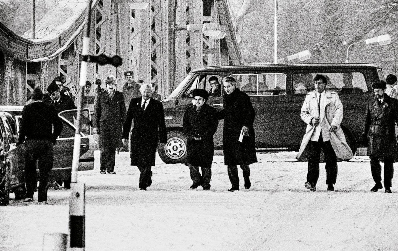 Agentenaustausch auf der Glienicker Brücke