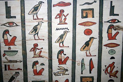 Das Alphabet der Ägypter