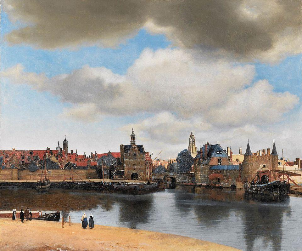 Jan Vermeer - Ansicht von Delft