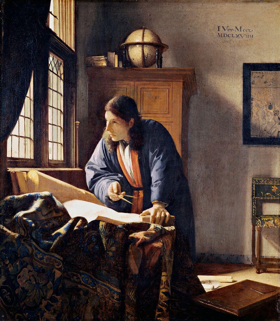Jan Vermeer - Der Geograph