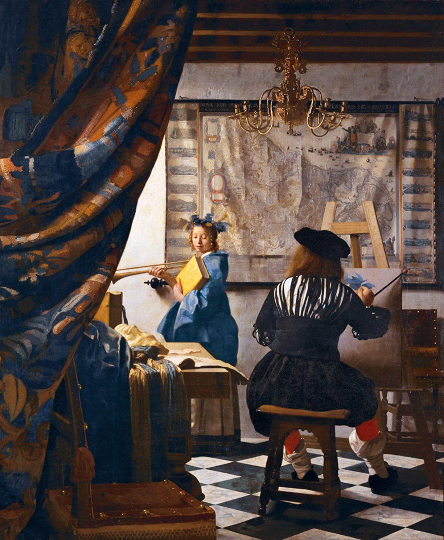 Jan Vermeer »DIE MALKUNST«