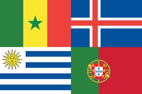 WM Flaggen