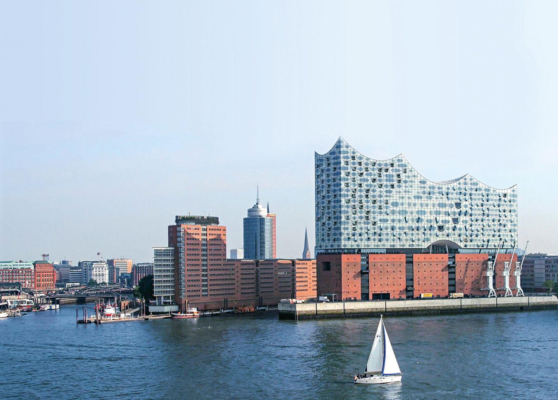 Segeln auf der Elbe