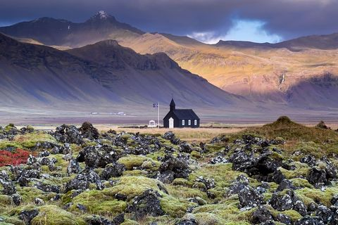 Búdakirkja, Island