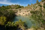 Bassin bei Fuente Caputa, Spanien