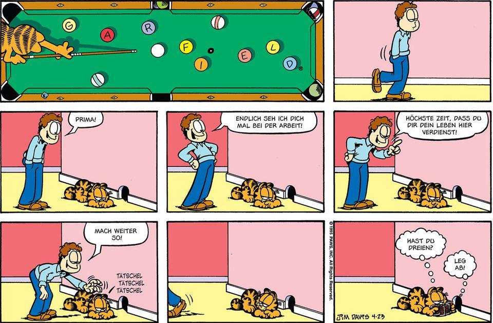 Garfield - 40. Geburtstag