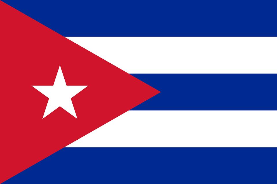 Kubas Flagge