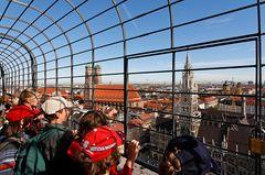 München, Blick vom Alten Peter