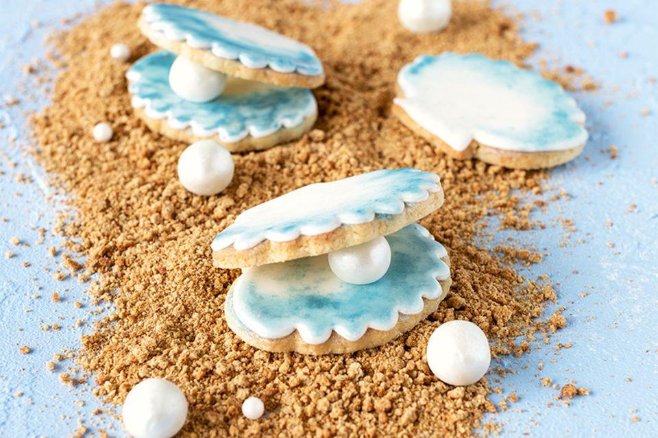 Muschel-Kekse