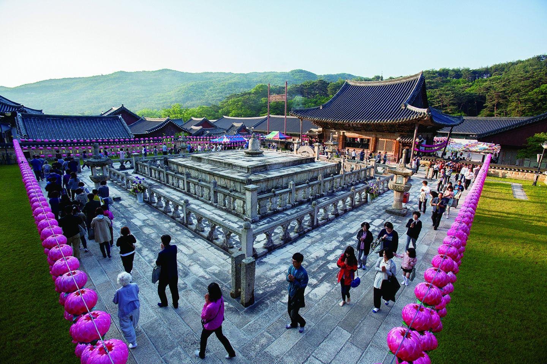 Südkorea, Sansa, buddhistische Bergklöster in Korea
