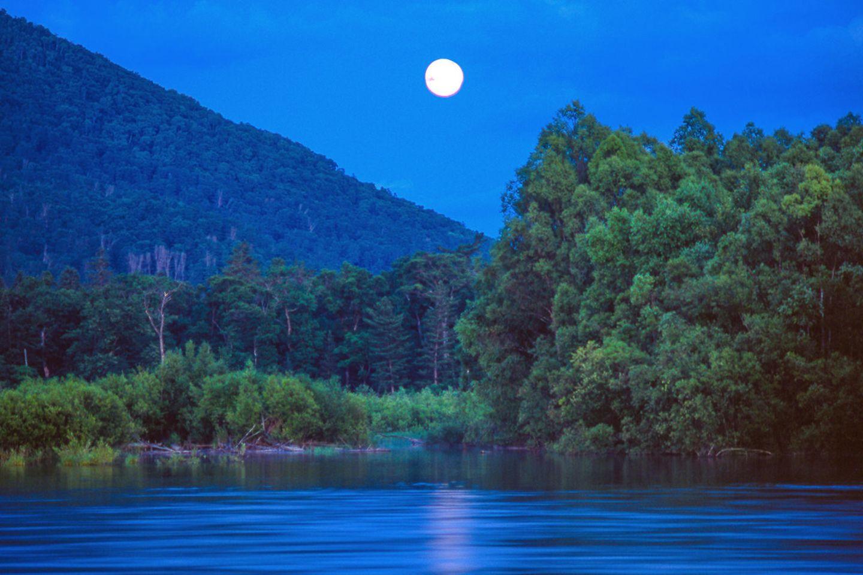 Russland, Bikin-Flusstal