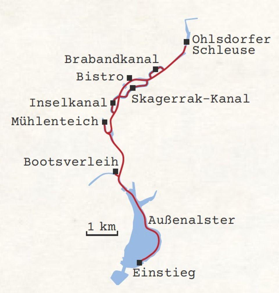 Kanutour Hamburg