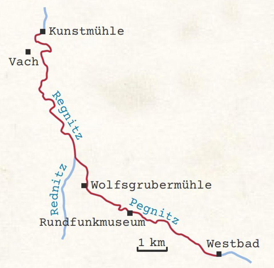 Nürnberg Kanutour